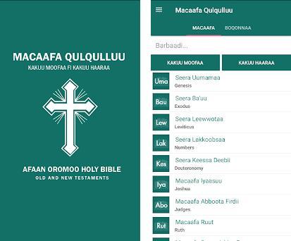 Oromo Bible - Macaafa Qulqulluu 1 0 1 apk download for Android • com
