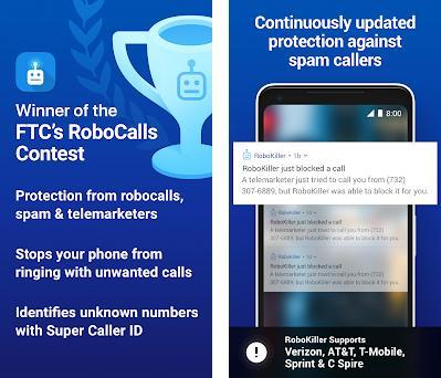 RoboKiller - Stop Spam and Robocalls 2 1 1 apk download for