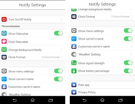 iNotify : iNoty OS 10, OS X 10 2 apk download for Android • net osx