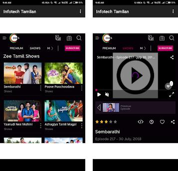 Zee Tamil TV Shows 1 0 apk download for Android • com