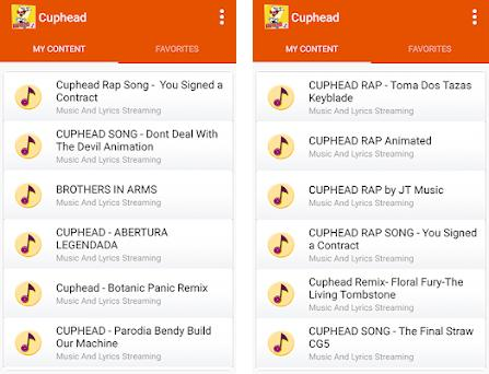 Cuphead - All New Songs 1 0 apk download for Android • com