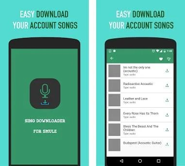 Sing Downloader for Smule 1 36 apk download for Android