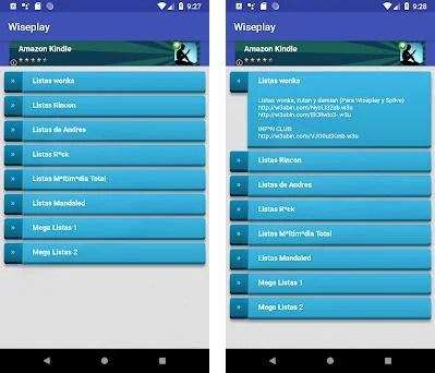 Listas para Wiseplay 7 0 apk download for Android • wiseplay listas