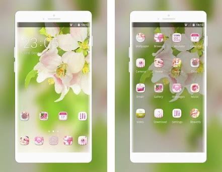 Theme for spring delicate flowers wallpaper 1 0 2 apk