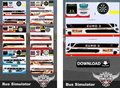 Livery Bussid Harapan Jaya 2019 6 0 Apk Download For Android