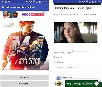 Mission Impossible Fallout Full Movie 2018 HD 4 0 apk