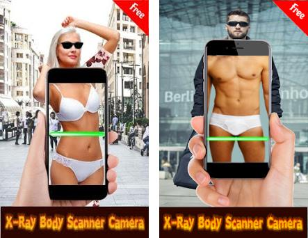 X-Ray Body Scanner New Real Under Cloth Scan Prank 1 1 apk