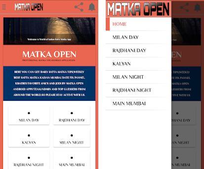 Matka OPEN Daily Kalyan Matka Main Mumbai Fix Open 1 apk