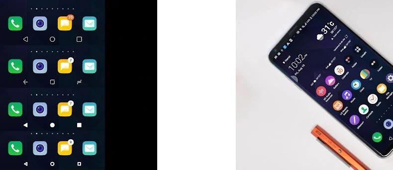 G8 Black Theme for LG V30 G6 V20 G5 Oreo 2 21 apk download