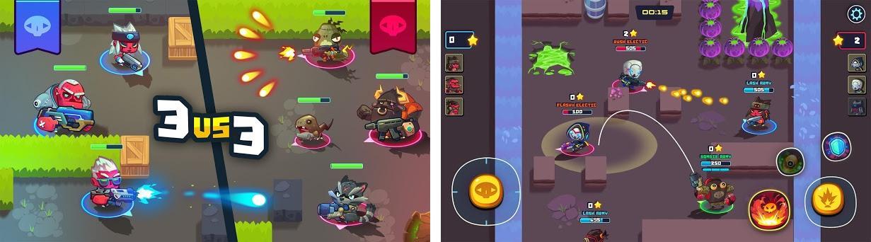 Boom Arena : Free Game MOBA Brawler Strike GO Capturas de pantalla