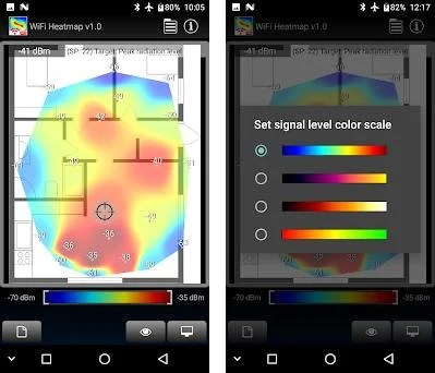 WiFi Heatmap 1 7 apk download for Android • com optivelox wifiheatmap