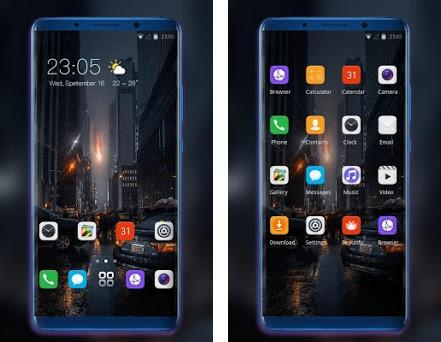 Theme for oneplus6T city night wallpaper 2 0 1 apk download