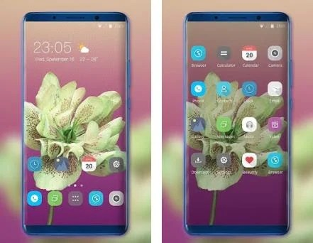 Theme for Mi Redmi flower simple rose blooming 2 0 1 apk download