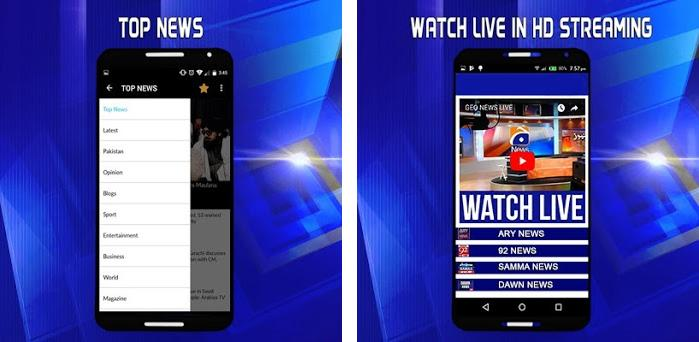 Live News Channel Pakistan 1 0 apk download for Android • com