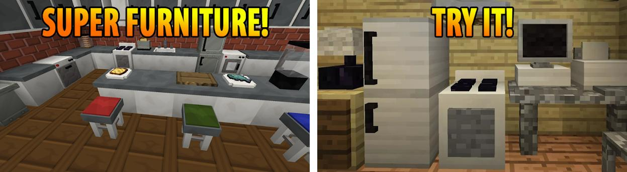 Furniture mod for Minecraft PE 1 5 2 apk download for