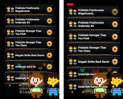 Frisklovania Frisk Chara Ringtones 3 0 apk download for