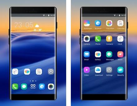 Theme for Pixel 3 Phone XS 12 sea sunest wallpaper 2 0 1 apk