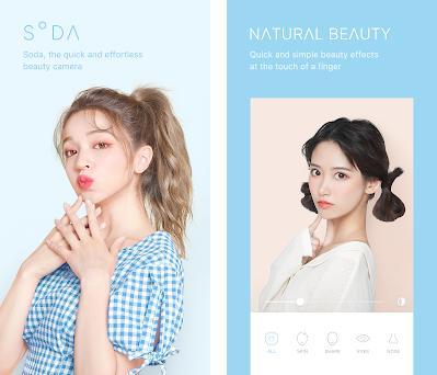 SODA - Natural Beauty Camera Imagem da captura de tela