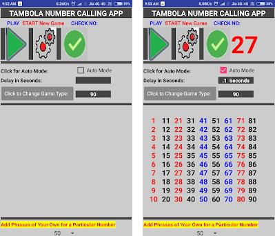 Housie/ Bingo/Tambola Number Caller App 1 2 apk download for Android