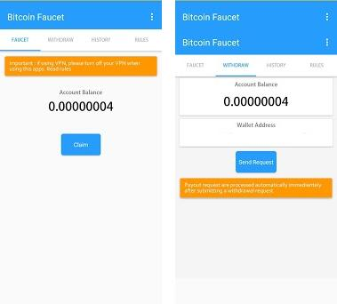 free bitcoin faucet 2 1 apk download for Android • faucet free