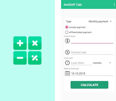 simple loan calculator app