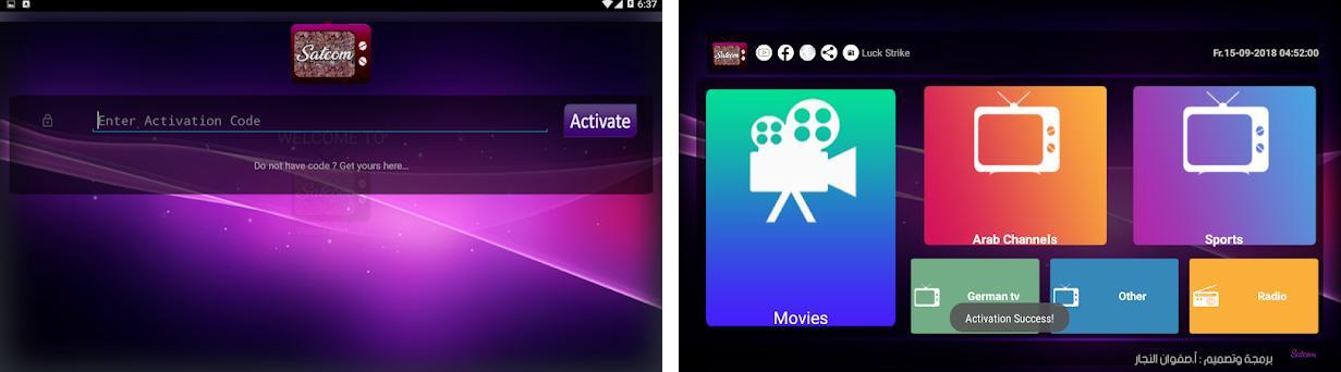Satcom TV & Radio 18 apk download for Android • safwan satcom com