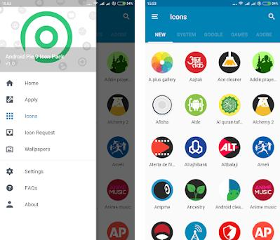 PIE 9 - Icon Pack 1 0 apk download for Android • com androidpie9