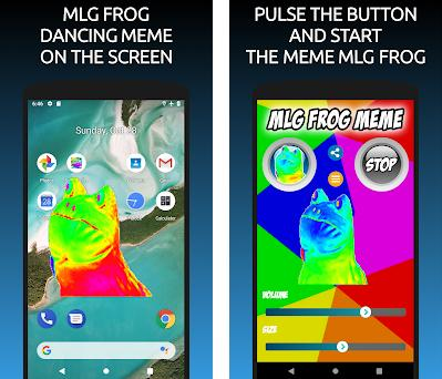 MLG Frog Meme on the Screen 13 0 apk download for Android • mlg frog