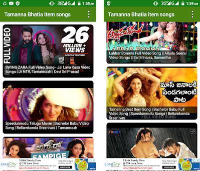 Download Tamanna bhatia item songs 2018(new updates) app apk • App id  com.globalentertainment.tamannabhatiaitemsongs