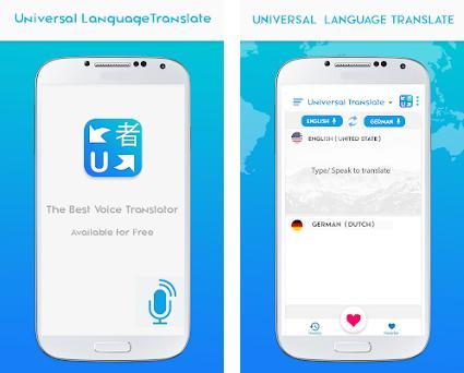 Universal Language Translate: Free Translation App 1 0 0 apk