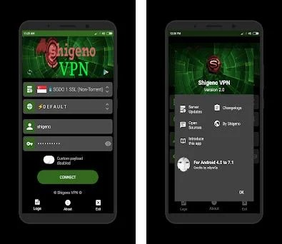 Shigeno VPN (For Android 5 0 to 8 1) 2 0 apk download for