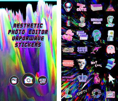 Aesthetic Photo Editor: Vaporwave Stickers 1 1 apk download