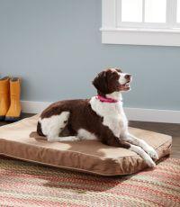 Premium Denim Dog Bed Set, Rectangular   Free Shipping at ...