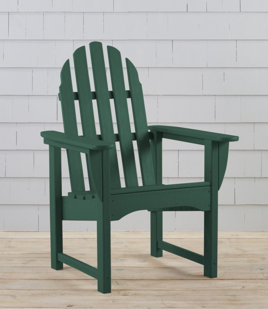 AllWeather Upright Adirondack Chair