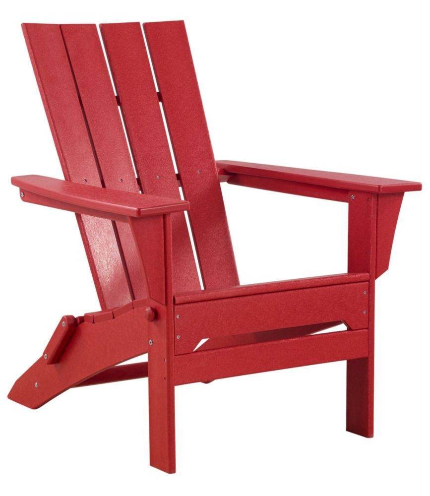 Red Adirondack Chairs All Weather Adirondack Chair Square Back