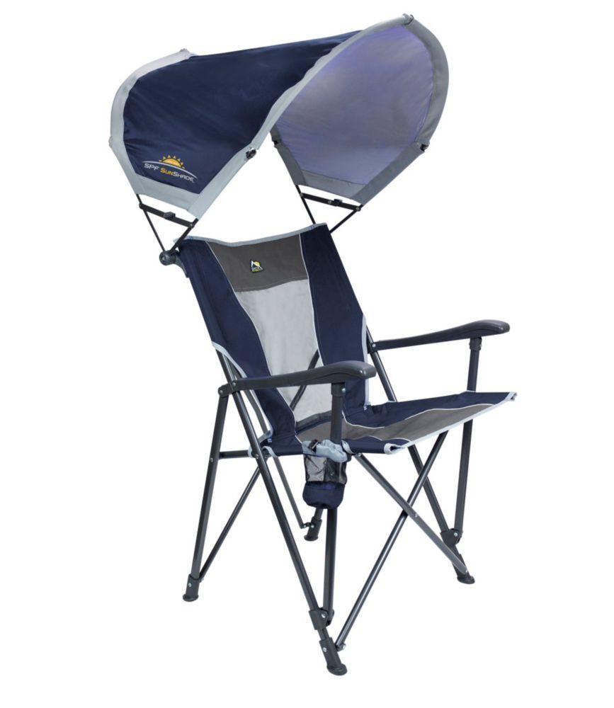 Fold Up Chair With Canopy Gci Sunshade Eazy Chair