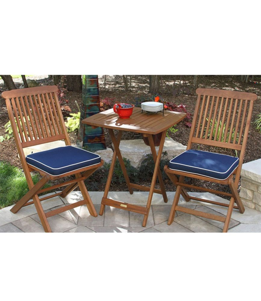 Wooden Bistro Table Sets - Design Ideas