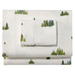 Hanging Chair Home Goods Seat Cushions For Chairs Dining On Sale Treeline Print Flannel Sheet Collection