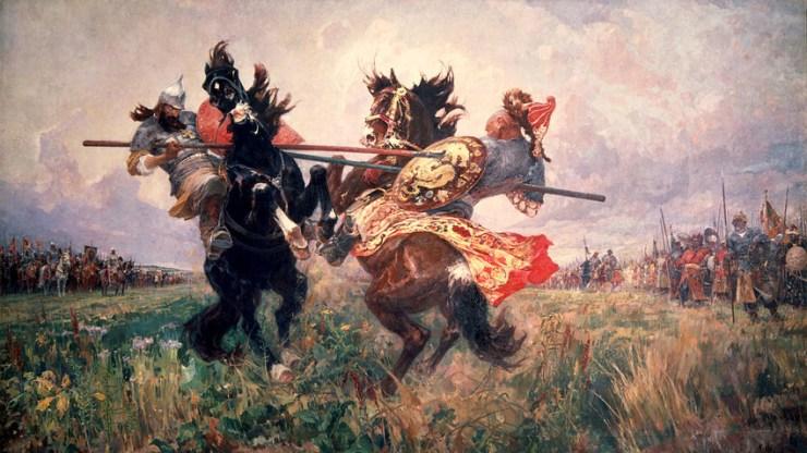 Mikhail Avilov, Duel on the Kulikovo field (1943)