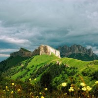 7 great mountains in Russia, other than Elbrus; Ksenia Zubacheva; RBTH