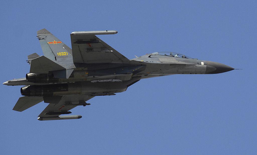 Su-27 proizveden u Kini i preimenovan u Shenyang J-11.