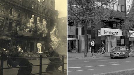 Increíbles fotos: Alemania antes y después de la Segunda Guerra Mundial