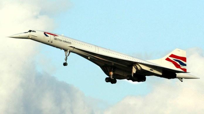 Resultado de imagen para Fotos de del avión supersónico Concorde.