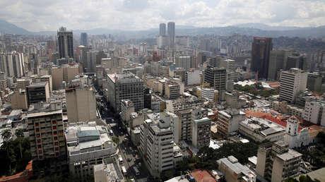 Panorámica vista general de Caracas, Venezuela