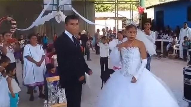 """""""La boda más triste del mundo"""" enciende las redes sociales en México (VIDEO)"""