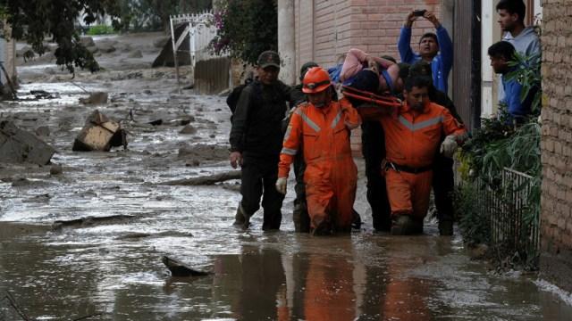 Bolivia declara el estado de emergencia por lluvias e inundaciones (VIDEO)