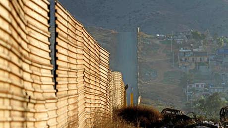 La cerca fronteriza entre los EE. UU. Y México en Tijuana, México, el 27 de enero de 2018.