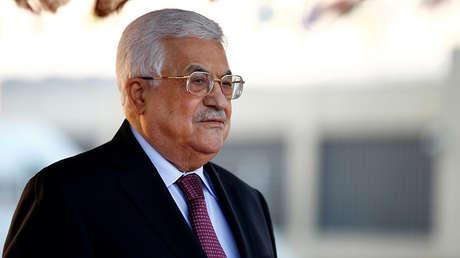 El líder palestino Mahmud Abbás.