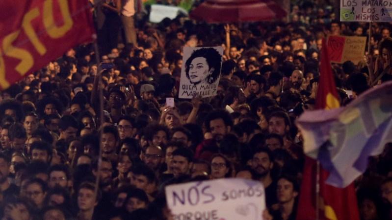 Indignación en Brasil: El dolor toma las calles tras el asesinato de Marielle Franco (FOTOS, VIDEO)