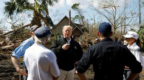 """""""Algo está sucediendo, no creo que sea un engaño"""": ¿Reconoce Trump que el cambio climático es real?"""
